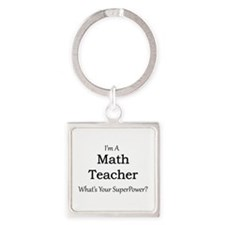 Math Teacher Keychains