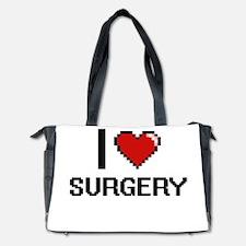 I love Surgery Digital Design Diaper Bag
