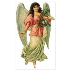 Vintage Angel Canvas Art