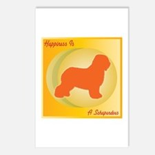 Schapendoes Happiness Postcards (Package of 8)