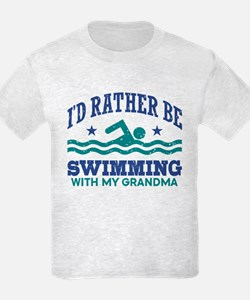 I'd Rather Be Swimming With My T-Shirt