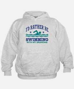 I'd Rather Be Swimming With My Grandma Hoodie