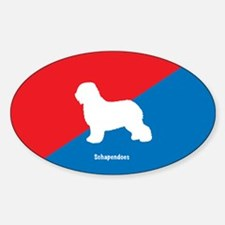 Schapendoes Oval Decal