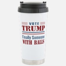 Trump - Finally Balls! Travel Mug
