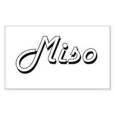 Miso Classic Retro Design Decal