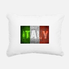 Vintage ITALY Rectangular Canvas Pillow