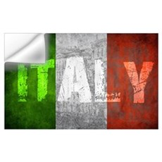 Vintage ITALY Wall Decal
