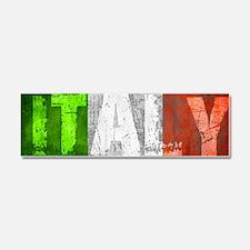Vintage ITALY Car Magnet 10 x 3