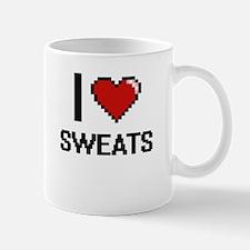 I love Sweats Digital Design Mugs