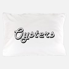 Oysters Classic Retro Design Pillow Case