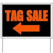 Tag Sale Yard Sign