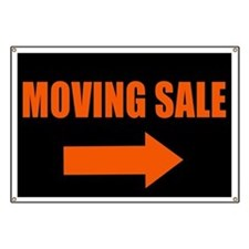 Moving Sale Banner