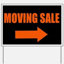 Moving Sale Yard Sign