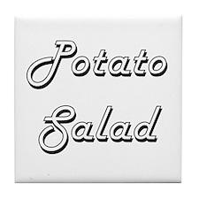 Potato Salad Classic Retro Design Tile Coaster