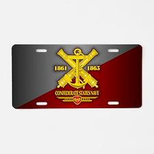 Confederate States Navy Aluminum License Plate