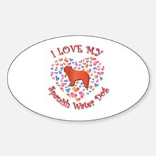 Love SWD Oval Decal