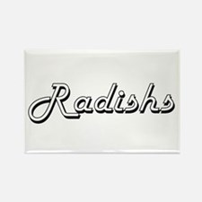 Radishs Classic Retro Design Magnets