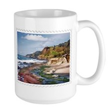 Gorgeous Coast of Oregon Stamp Mug