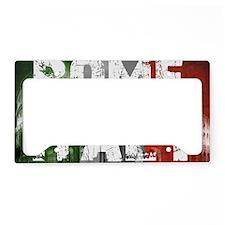 ROME ITALY License Plate Holder