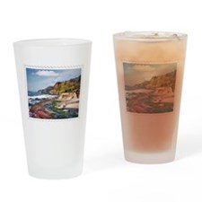 Gorgeous Coast of Oregon Stamp Drinking Glass