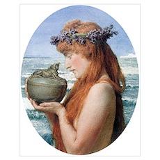 Pandora by Alma Tadema Poster
