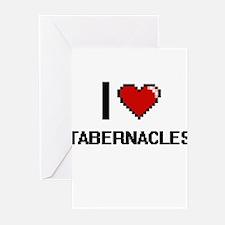 I love Tabernacles Digital Design Greeting Cards