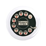 Retro Rotary Phone Button