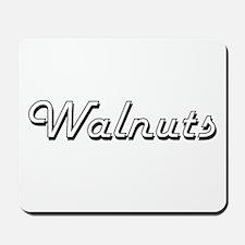 Walnuts Classic Retro Design Mousepad