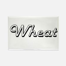 Wheat Classic Retro Design Magnets