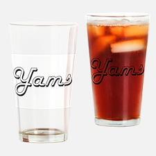 Yams Classic Retro Design Drinking Glass