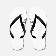 Ariella name in Hebrew Flip Flops