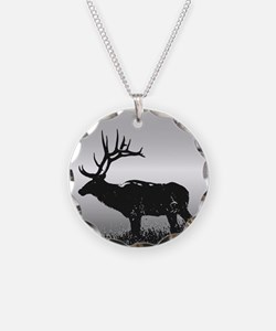 Safari Elk Animals Necklace