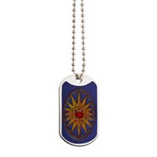 Harvest Moons Compass Rose Dog Tags