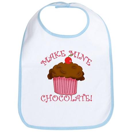 Chocolate Cupcake Bib