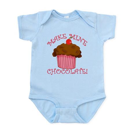 Chocolate Cupcake Infant Bodysuit
