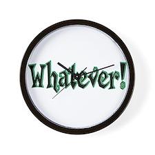 Whatever II Wall Clock