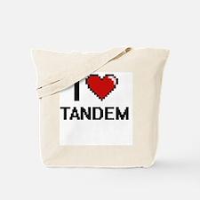 I love Tandem Digital Design Tote Bag