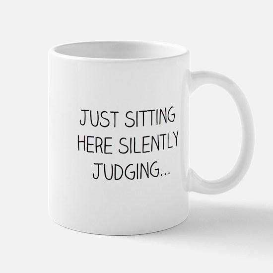 Silently Judging Mugs