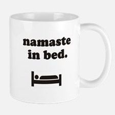 Namaste in Bed Mugs
