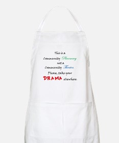 Pharmacy Drama BBQ Apron