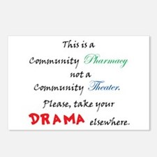 Pharmacy Drama Postcards (Package of 8)