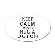 Keep Calm And Dutch Designs Wall Decal