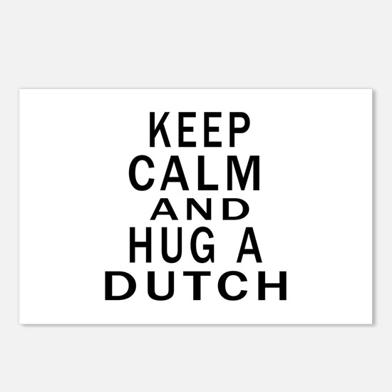 Keep Calm And Dutch Desig Postcards (Package of 8)