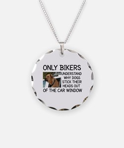 ONLY BIKERS UNDERSTAND WHY D Necklace