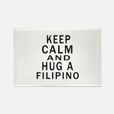 Keep Calm And Filipino Designs Rectangle Magnet
