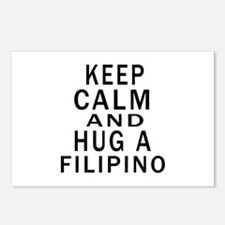 Keep Calm And Filipino De Postcards (Package of 8)