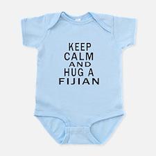 Keep Calm And Fijian Designs Infant Bodysuit