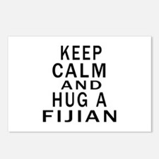 Keep Calm And Fijian Desi Postcards (Package of 8)
