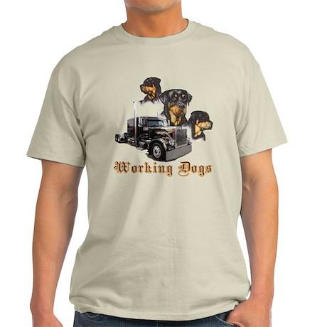 Working Dogs Light T-Shirt