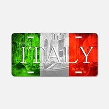 VENICE ITALY GONDOLA Aluminum License Plate